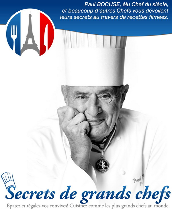 couverture secrets de grands chefs